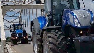 Download New Holland karavaan volop onder weg Trekkerweb T6 DYNAMIC COMMAND™ Video