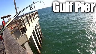 Download Pier Fishing for Beginners - Easy Fishing at the Gulf State Park Pier Video