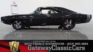 Download 1968 Dodge Charger V-8 Big Block Gateway Classic Cars Scottsdale #52-SCT Video