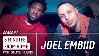 Download Joel Embiid Knows How to Make Stephen Curry Go 0-for-10 from Three | 5 Minutes from Home Video