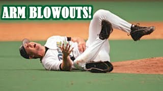 Download MLB | ARM BLOWOUTS! (TERRIBLE ARM INJURIES) | 1080p HD Video
