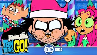Download Teen Titans Go! | Naughty Elves And Santa Claus | DC Kids Video