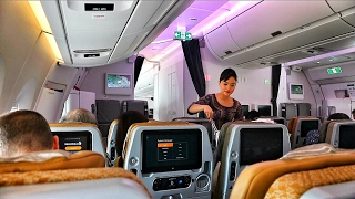 Download SINGAPORE AIRLINES A350-900XWB FLIGHT EXPERIENCE JAKARTA TO SINGAPORE Video