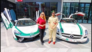 Download A DAY WITH DUBAI POLICE SUPERCARS !!! Video