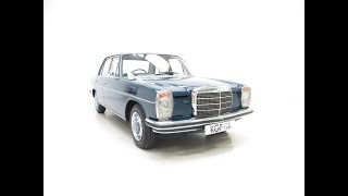 Download An Irreplaceable Mercedes-Benz 250 (W114) with just 6,212 Miles and Two Owners. SOLD! Video