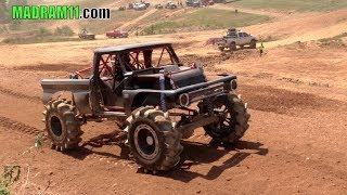 Download MEGA TRUCKS RIP UP THE SHORT COURSE TRACK at WEST GEORGIA MUD PARK Video