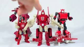 Download Transformers MBT Alterationman Red Comet Knock Off KO Powerglide review Combiner Wars Video