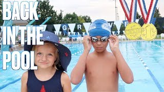 Download 🏊 FIRST SWIM MEET OF SUMMER | SWIMMING COMPETITION | FIRST PLACE WINNER 🥇 Video