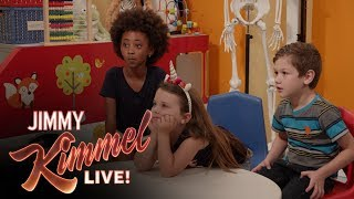 Download Jimmy Kimmel Talks to Kids About Health Care Video