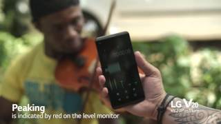 Download How to create good audio with your LG V20 and Zeno Petersen Video