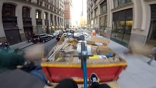 Download DailyCruise 23: BMX DUMPSTER FOAMPIT in NYC! Video