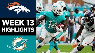 Download Broncos vs. Dolphins | NFL Week 13 Game Highlights Video