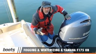 Download Fogging and Winterizing a Yamaha F175 EFI Outboard (It's different!) Video