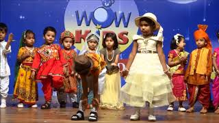 Download Fancy dress- States of India- Performance by Nursery & Playgroup (WOWKIDS FATORDA ANNUAL DAY 2018) Video