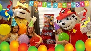 Download Marshall's Birthday Party !!! ~ HUGE Rubble Paw Patrol Pup Parody Video
