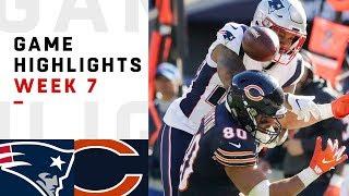 Download Patriots vs. Bears Week 7 Highlights   NFL 2018 Video
