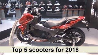 Download The Top 5 scooters for 2018 Video