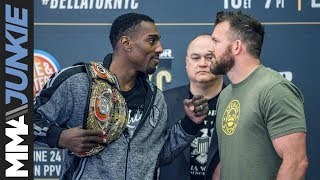 Download Bellator 180 media day face-offs Video