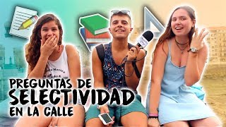 Download PREGUNTAS DE SELECTIVIDAD en la CALLE Video