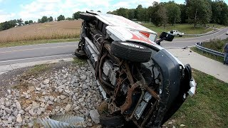 Download DRIVING FAIL!!!!!!!! ROLLOVER BOX VAN Video