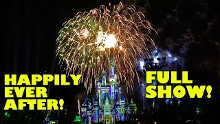 Download Happily Ever After NEW Fireworks Complete Show Walt Disney World Magic Kingdom! WOW!!! Video