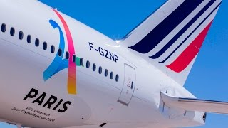 Download Air France - Official Supplier for Paris 2024 Video