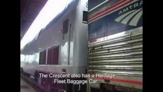 Download Video about Traveling on Amtrak's Crescent Video