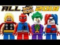 Download ALL Lego Super Heroes Mighty Micros 2018 Minifigures HD Images! Video