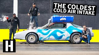 Download Dry Ice Cold Air Intake: Does Frozen Air Make More Horsepower? Video
