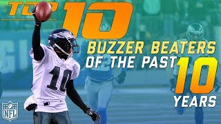 Download Top 10 Buzzer Beaters from the Past 10 Years | NFL Highlights Video