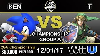 Download 2GGC - KEN (Sonic) Vs. T (Link) Group A - Championship Video
