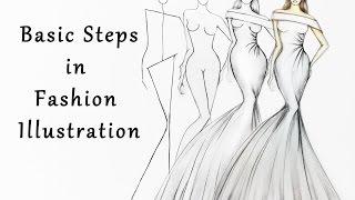 Download Steps in Fashion Illustration Video