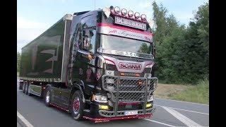 Download Berg ruft 2017 with new Generation Scania Andreas Schubert, V8 Sound and more 4K UHD Video
