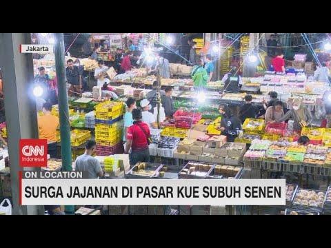 Surga Jajanan di Pasar Kue Subuh Senen