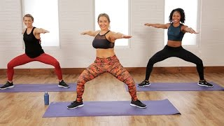 Download Low-Impact Cardio and Toning Workout That's Perfect For Beginners, Too | Class FitSugar Video