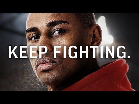 KEEP FIGHTING - Best Motivational Video Featuring Daron Roberts (No Refunds Speech)