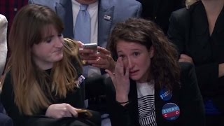 Download Hillary supporters' reactions as the results appeared Video