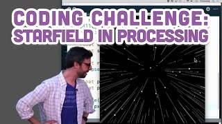 Download Coding Challenge #1: Starfield in Processing Video