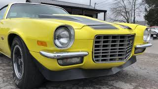 Download 1973 Camaro $19,900 , Maple Motors Video