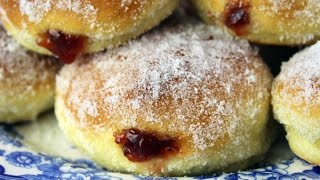 Download Pączki - Polish Jelly Donuts - Oven Baked Doughnuts Video
