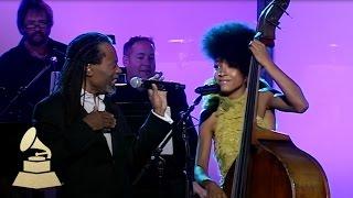 Download Bobby McFerrin & Esperanza Spalding jam at the 53rd GRAMMY Pre-Tel   GRAMMYs Video