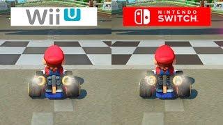 Download Mario Kart 8   Switch VS Wii U   GRAPHICS COMPARISON   Comparativa Video