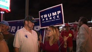 Download Trump supporters in Miami react to election results Video