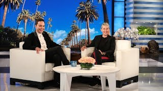 Download Jim Parsons and Ellen Talk About Their Wedding Anniversaries Video