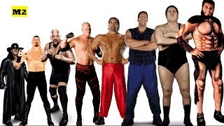 Download Top 15 Tallest Wrestlers of All Time - Giant Wrestlers WWE/WWF [HD] Video