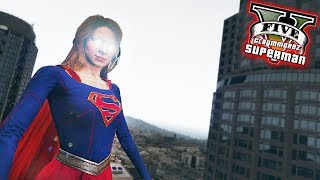 Download SUPERGIRL CRIME HUNTING! Superman LSPDFR (GTA 5 Superman Mod) Video