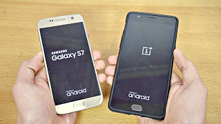 Download Samsung Galaxy S7 OFFICIAL Android 7.0 Nougat vs OnePlus 3T OFFICIAL Android 7.0 - Speed Test Video