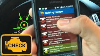 Download How to Clear/ Reset Check Engine Light with Smartphone!!! -Torque Pro Video