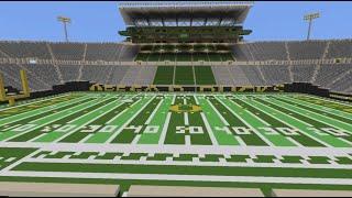 Download Autzen Stadium - Oregon Football - Minecraft Creative Build Video