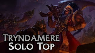 Download League of Legends | Sultan Tryndamere Solo Top - Full Game Commentary Video